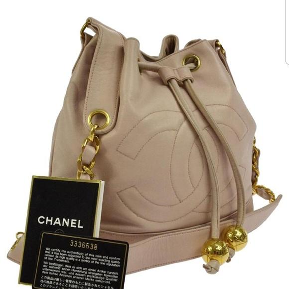 d921134cc6a9 CHANEL Bags | Vintage Pinkblush Bucket Bag | Poshmark